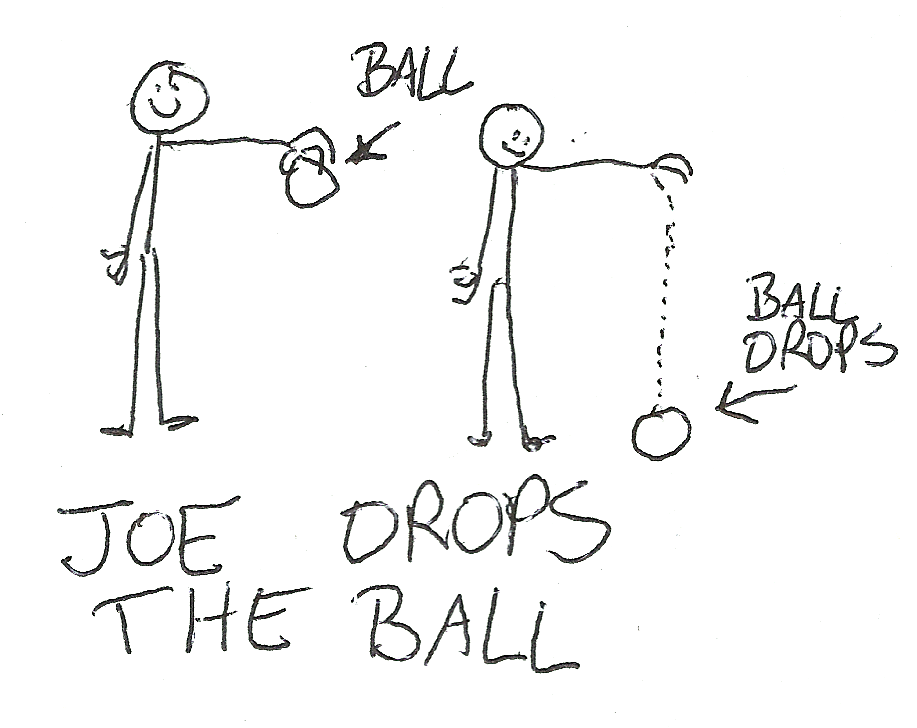Joe Drops the Ball