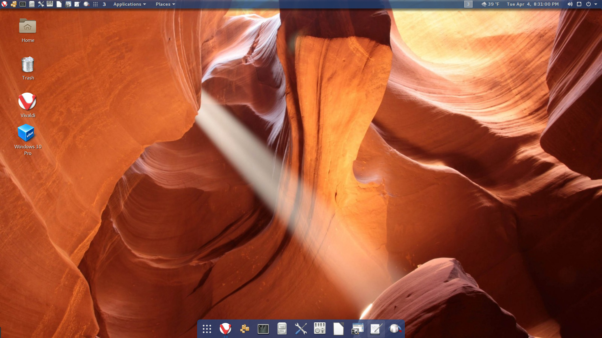 My Gnome Desktop
