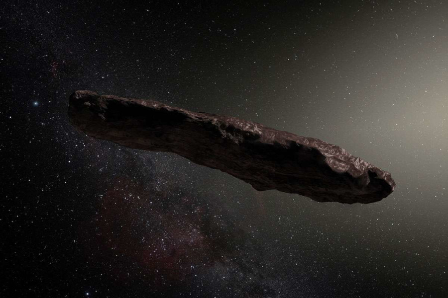Is it true that the Oumuamua is an alien spaceship or is it a conspiracy theory?
